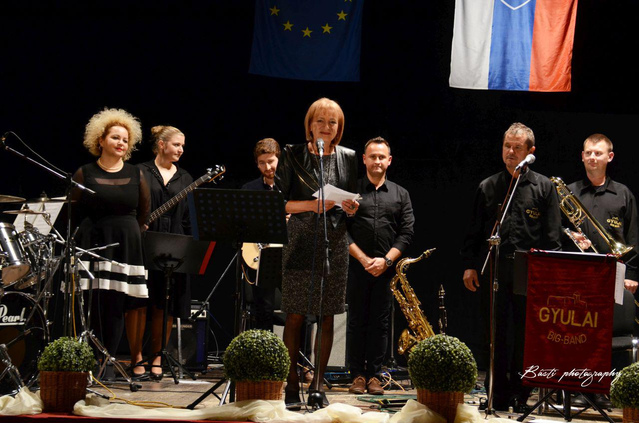 Koncert skupiny Gyulai Big Band